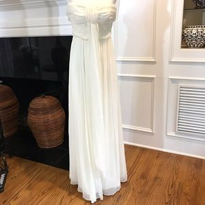 J Crew Silk Chiffon Whitney Wedding Gown - SZ 2